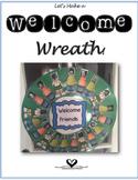 Welcome Classroom Wreath