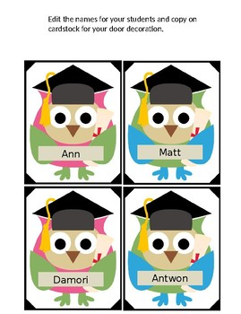 Welcome Future Graduates Door Decoration