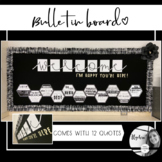 Welcome bulletin board back to school   Classroom decorations