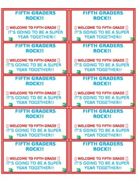 Welcome Labels for Parent Folders