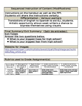 Welcome Lesson lesson plan