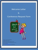 Welcome Letter & Conference Request