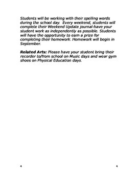 Welcome Letter: Special Education