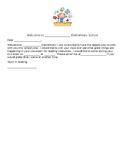 Welcome Letter for New Teacher
