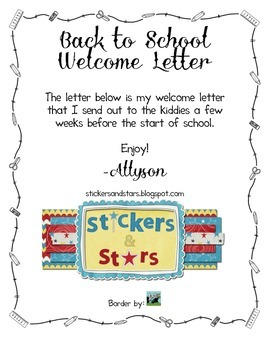 Letter To Students.Welcome Letter For Students And Parents