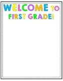 Welcome/Meet the Teacher Letter - Editable