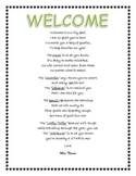 Welcome Message (Beginning-of-the-Year)