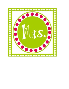 Welcome & Name Banner