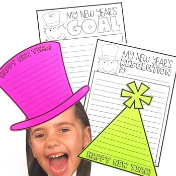 A New Year's Resolution Writing Unit - Welcome New Year!