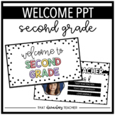 Welcome PPT for Second Grade | Editable