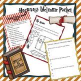 First Day of School Hogwarts Packet