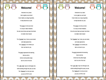 Welcome Poem for Students