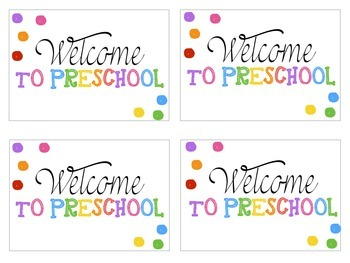 Welcome Postcards