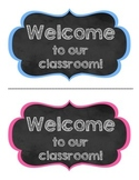 Welcome Postcards Back To School