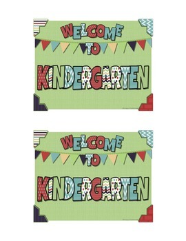 Welcome Postcards in Fun Colors
