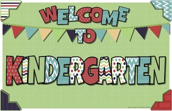 Welcome Poster or Sign