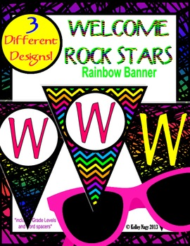 Welcome Rock Stars Banner