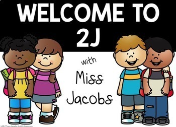 Welcome Sign {Editable}