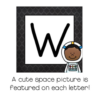 Welcome Sign / Banner :  Space Themed