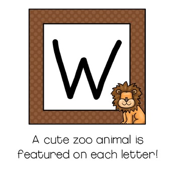 Welcome Sign / Banner :  Zoo Themed