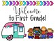 Welcome Sign - Camping (Editable)