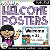 Welcome Sign - Editable