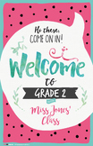 Welcome Signs in Large & Small (Watermelon) by Think BIG
