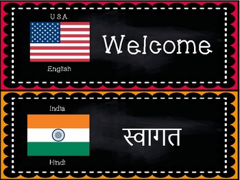 Welcome Signs Around the World