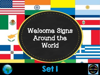 Welcome Signs - In Different Languages
