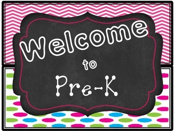 Welcome Signs- Grade Specific- Chalk&Neon