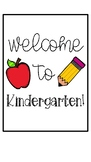 Welcome Signs- K-5