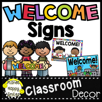 Welcome Signs ~ Plus MORE!