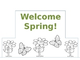 Welcome Spring Crown