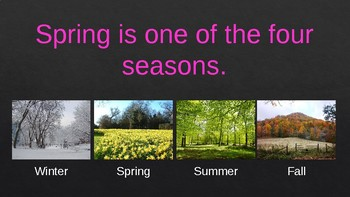 Welcome Spring! - Non-Fiction PowerPoint Presentation