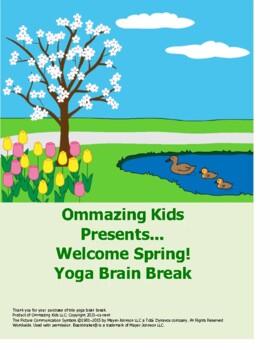Welcome Spring! Yoga Brain Break