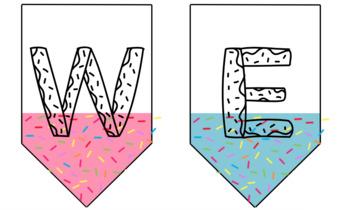 Welcome | Sprinkled Donut Banner