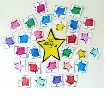 Welcome Stars Class Display