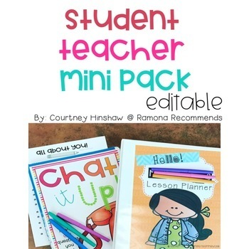 Welcome Student Teacher Kit