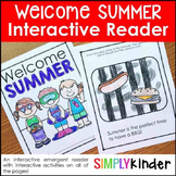 Summer Activities - Welcome Summer Seasons Book