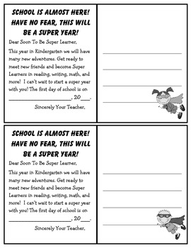 Welcome Superhero Postcards