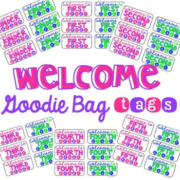 Welcome Tags
