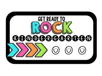Welcome Tags - Get Ready To ROCK!