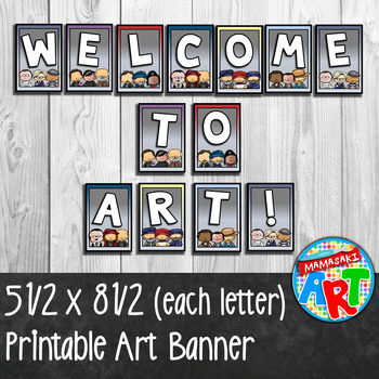 Welcome To Art Banner