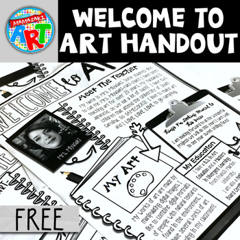 Welcome To Art Editable Template