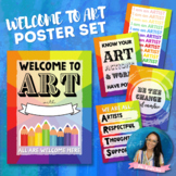 Welcome To Art Posters