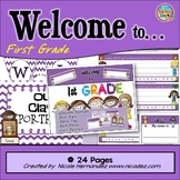 Welcome Banners - Welcome To First Grade with Door Signs and More!