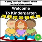 Kindergarten First Day of School Story