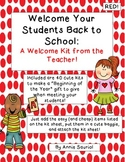 Welcome To Our Class: A Beginning of the Year Welcome Kit from the Teacher