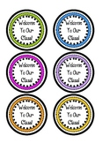 Welcome To Our Class Pencil Toppers- Colorful