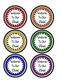 Welcome To Our Class Pencil Toppers- Primary Colors